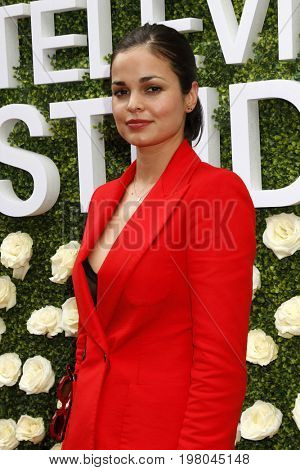 LOS ANGELES - AUG 1:  Lina Esco at the CBS TV Studios Summer Soiree TCA Party 2017 at the CBS Studio Center on August 1, 2017 in Studio City, CA
