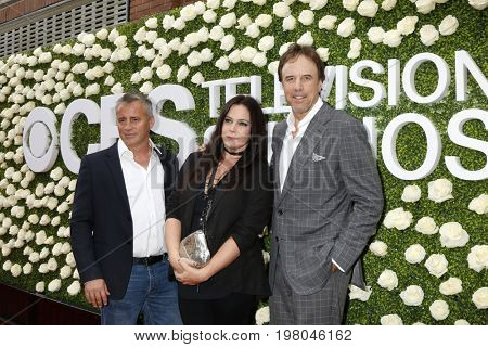 LOS ANGELES - AUG 1:  Matt LeBlanc, Liza Snyder, Kevin Nealon at the CBS TV Studios Summer Soiree TCA Party 2017 at the CBS Studio Center on August 1, 2017 in Studio City, CA