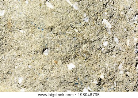 Natural Texture Of Conglomerate With Quartz Stones