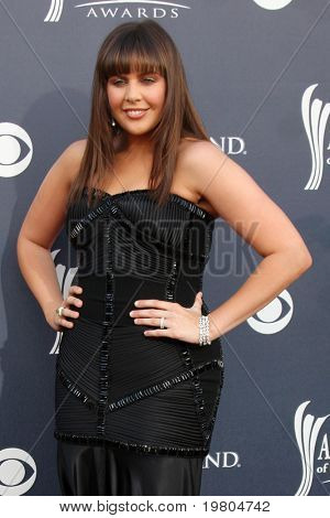 LAS VEGAS - APR 3:  Hillary Scott arrives at the Academy of Country Music Awards 2011 at MGM Grand Garden Arena on April 3, 2010 in Las Vegas, NV.
