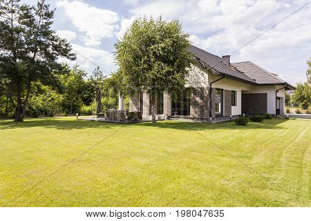 Big Detached House With Green Garden