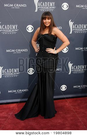 LAS VEGAS - APR 3:  Hillary Scott arriving at the Academy of Country Music Awards 2011 at MGM Grand Garden Arena on April 3, 2011 in Las Vegas, NV.
