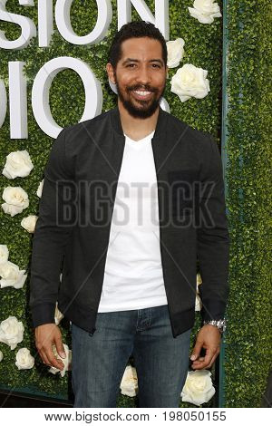 LOS ANGELES - AUG 1:  Neil Brown Jr at the CBS TV Studios Summer Soiree TCA Party 2017 at the CBS Studio Center on August 1, 2017 in Studio City, CA