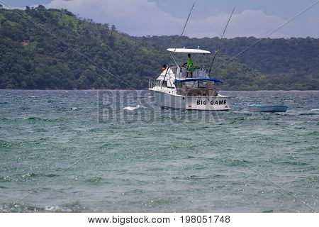 Cost Rican Fishing Boat