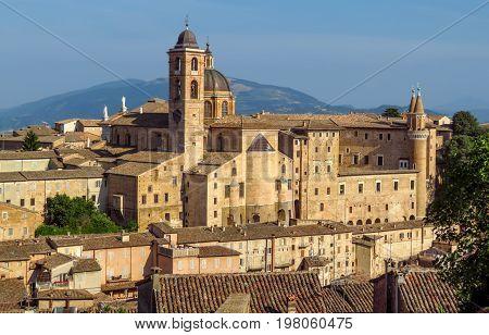 Urbino - Panoramic View Of Ducale Palace