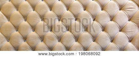 Stitch Kapiton decorative upholstery headboard o n