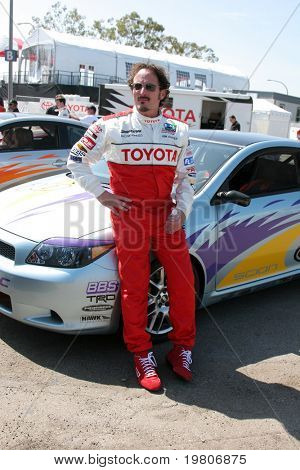 LOS ANGELES - APR 5:  Kim Coates at the Toyota Pro/Celeb Race Press Day 2011 at Long Beach Grand Prix Toyota Compound on April 5, 2011 in Long Beach, CA