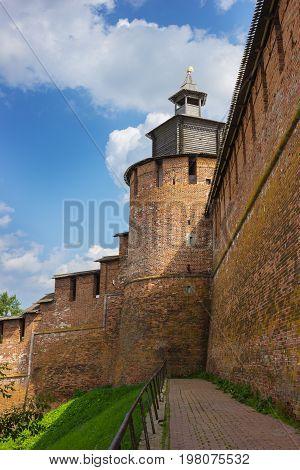 Novgorod Kremlin. Clock Tower