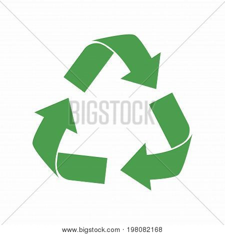 Recycle Icon. Green Eco Cycle Arrows. Recycle Symbol In Ecology