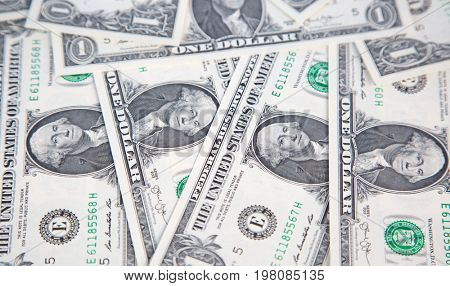 US 1 dollar banknote collection