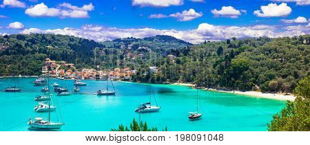 Authentic beautiful Greece series - pictorial Paxos island,Lakka