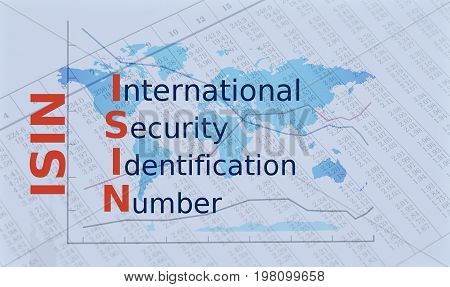 Acronym ISIN - International Security Identification Number