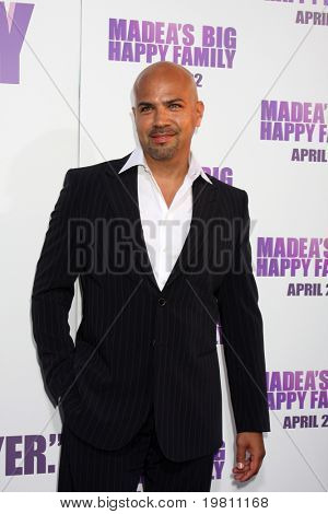 LOS ANGELES - APR 19:  Philip Anthony-Rodriguez  arrives at the