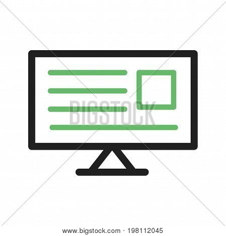News, online, bbc icon vector image. Can also be used for news and media. Suitable for mobile apps, web apps and print media.