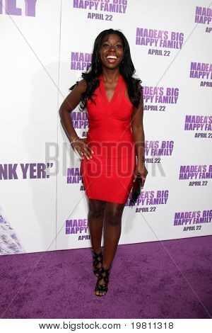 """LOS ANGELES - APR 19:  Camille Winbush arrives at the """"Madea's Big Happy Family"""" Premiere at ArcLight Cinemas Cinerama Dome on April 19, 2011 in Los Angeles, CA.."""