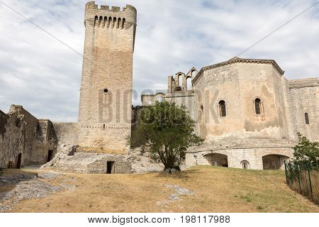 Abbey of St. Peter in Montmajour near Arles France