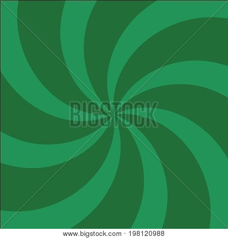 Green And Light-green Twirl Background With Scratch.