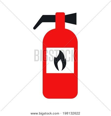 fire extinguisher. Icon vector illustration eps 10