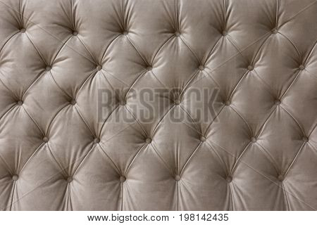 Elegant furniture upholstery in the old style