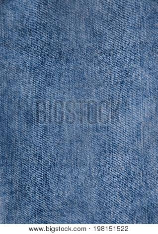 Closeup of denim jeans texture.