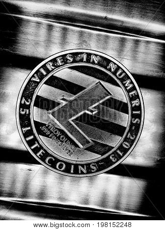 Black Silver Litecoin