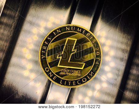 Dirty Old Gold Litecoin