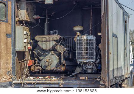Mobile Generator Truck Mounted