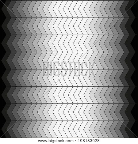 Background of strips of white gray color of different saturation which are added to the geometric pattern