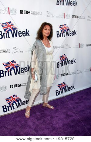 LOS ANGELES - APR 26:  Jackie Bissett arriving at the 5th Annual BritWeek Launch Party at British Consul General's residence on April 26, 2011 in Los Angeles, CA..