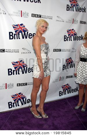 LOS ANGELES - APR 26:  Dominika Wolski arriving at the 5th Annual BritWeek Launch Party at British Consul General's residence on April 26, 2011 in Los Angeles, CA..