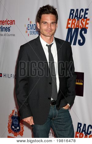 LOS ANGELES - APR 29:  Greg Rikaart arriving at the 18th Race to Erase MS Event at Century Plaza Hotel on April 29, 2011 in Century City, CA..