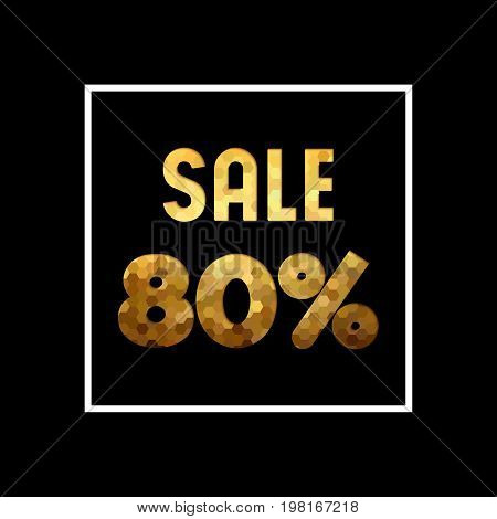 Sale 80% Off Gold Quote For Business Discount