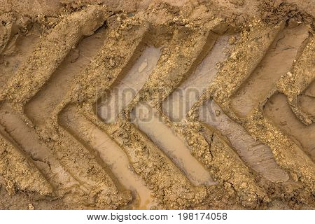 Tractor Tyre Track 2