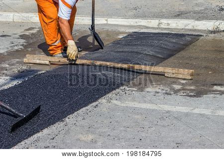 City Crew Install A New Speed Bump