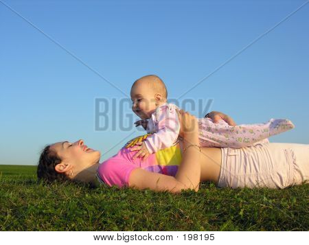 Mother With Baby