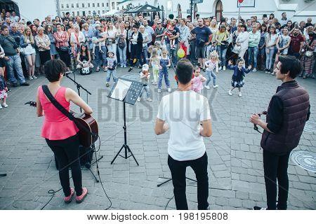 Minsk, Belarus.july 22, 2017.