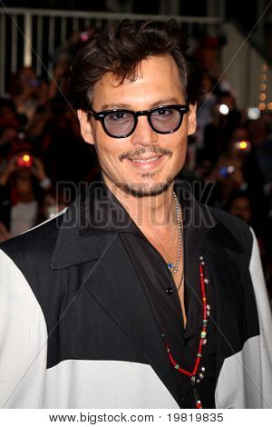 LOS ANGELES - 7 de maio: Johnny Depp chegar ao