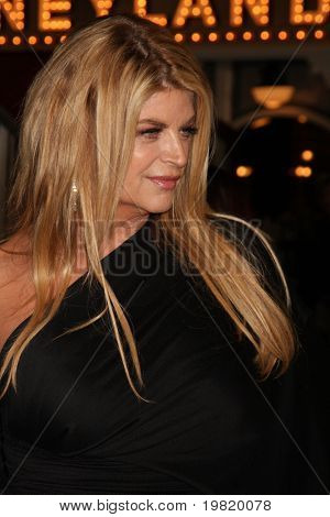 LOS ANGELES - MAY 7:  Kirstie Alley arriving at the