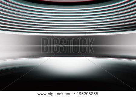 Curved chroma abstract virtual reality background hd