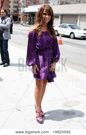 """LOS ANGELES - MAY 8:  Paula Abdul, one of the talent judges,  arriving at the """"X-Factor Auditions"""" at Galen Center on May 8, 2011 in Los Angeles, CA"""