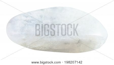 Tumbled Moonstone (adular) Stone Isolated