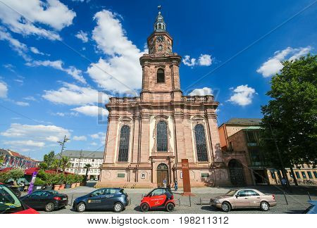 Holy Trinity Church In Worms, Germany