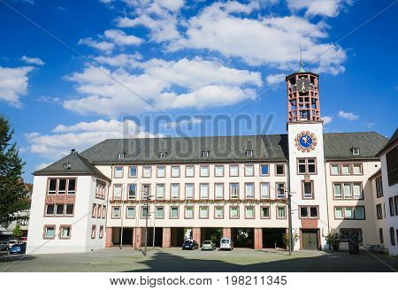 Town Hall Of Worms, Germany