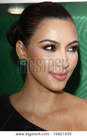 LOS ANGELES - MAY 10:  Kim Kardashian at the Kim Kardashian & Midori Melon Liqueur launches The Midori Trunk Shows at Trousdale  on May 10, 2011 in Los Angeles, CA