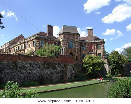 View of Eltham Palace from the gardens