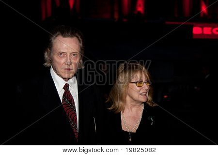 NEW YORK - APRIL 21: Actor Christopher Walken attends the Vanity Fair party during the 8th annual Tribeca Film Festival at the State Supreme Courthouse April 21, 2009 in New York.