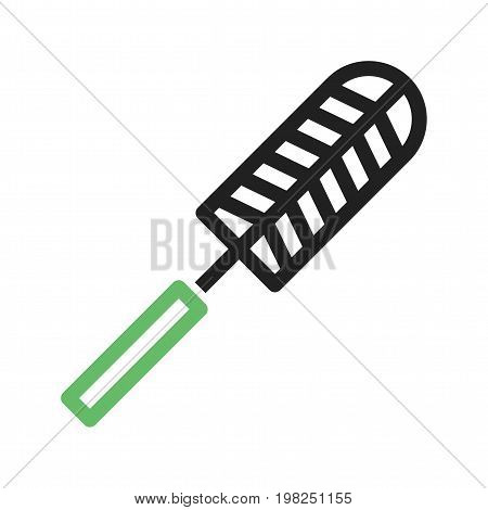 Dust, duster, cobwebs icon vector image. Can also be used for Cleaning Services. Suitable for use on web apps, mobile apps and print media.