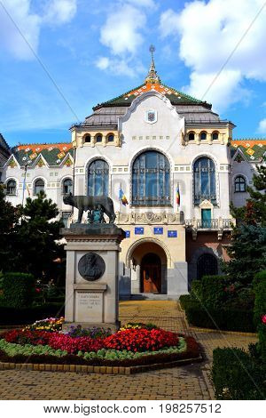 City Hall in Targu Mures, Romania, a nice romanian town in the center of Transylvania.