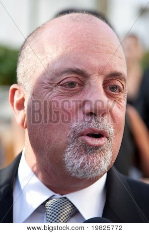 NEW YORK - SEPTEMBER 21:  Musician Billy Joel attends the Metropolitan Opera season opening with a performance of 'Tosca' at the Lincoln Center  on September 21, 2009 in New York City.