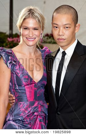 NEW YORK - SEPTEMBER 21: Julie Macklowe and Jason Wu attend the Metropolitan Opera 2009-10 season opening night at Lincoln Center for the Performing Arts on September 21, 2009 in New York City.